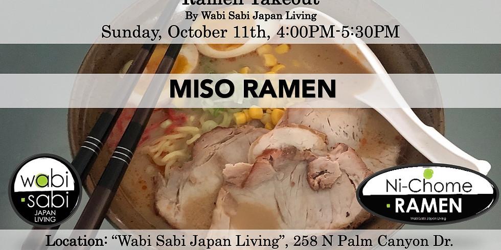 Ramen Takeout – Sun, 10/11, 4:00PM-5:30PM @ Wabi Sabi Japan Living