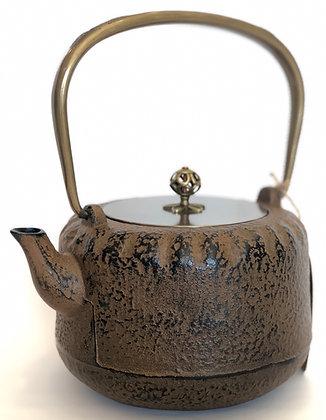 Cast-Iron Tea Kettle, Brown