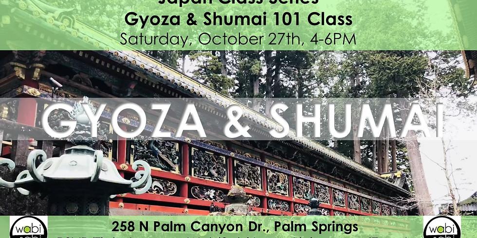 Japan Class Series: Gyoza & Shumai 101, Sat 10/27/18