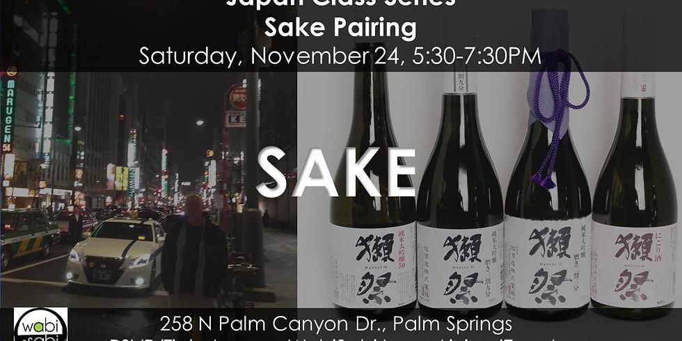 Sake Pairing, Sat 11/24/18