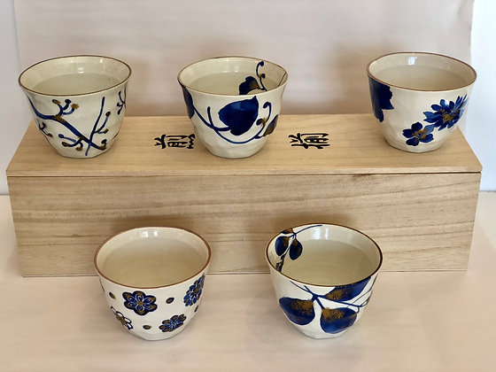 Set of Tea Cups (5)