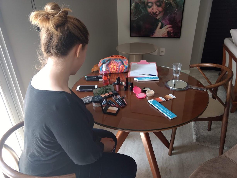 Análise de maquiagem - Raissa Fernandes