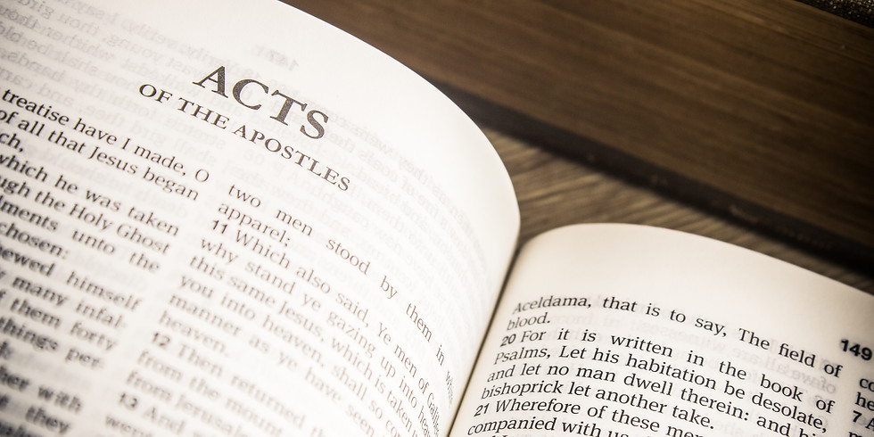 Adult Forum - Acts Bible Study