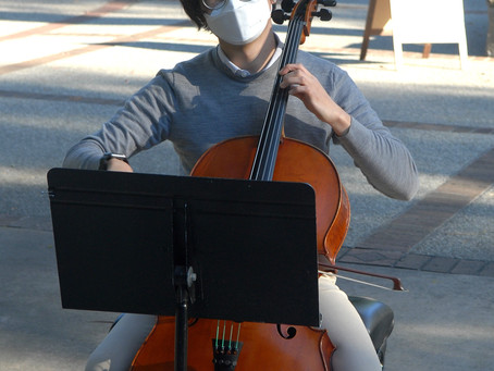 Hope is the Thing with Feathers: A LETTER FROM COS CELLIST DUSTIN SEO