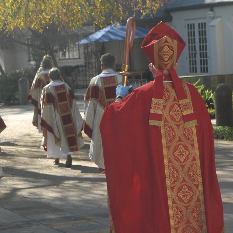 The Bishop's Visit - INDOOR & Live Stream