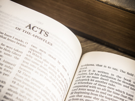 Forum Zoom Bible Study: THE BOOK OF ACTS