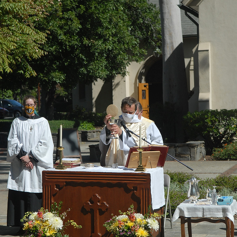 Holy Eucharist - Outdoor & Live Stream