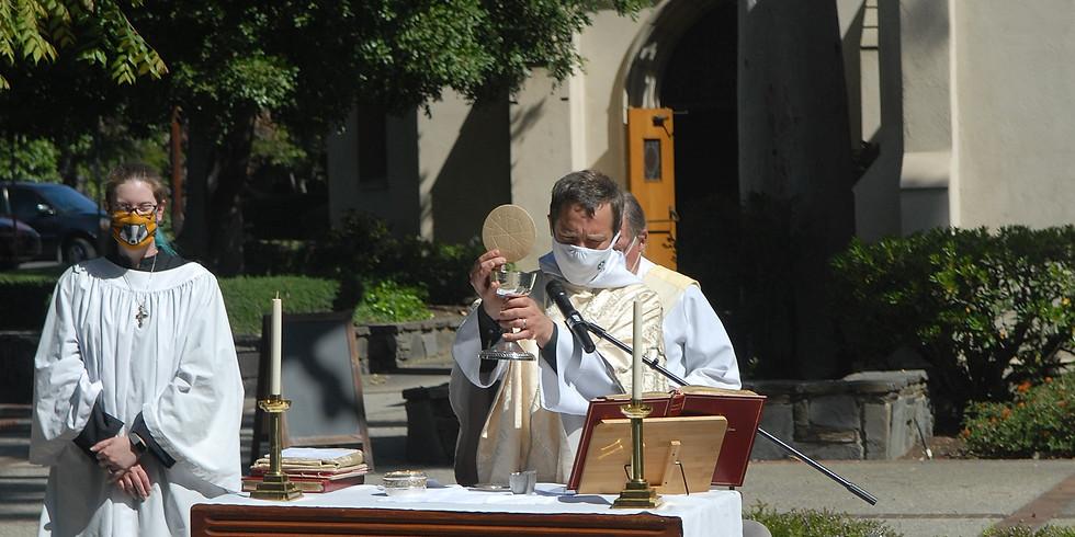 Holy Eucharist - Outdoor & Live Stream