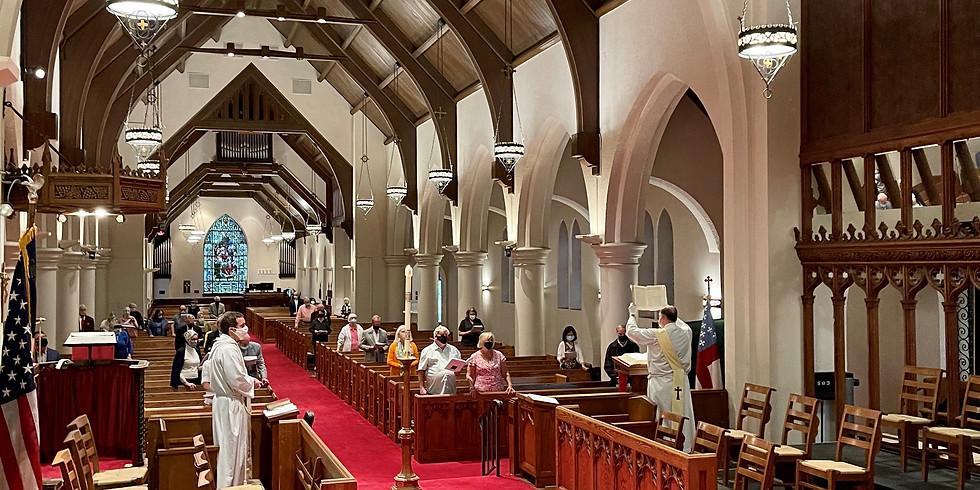 Holy Eucharist - INDOOR & Live Stream