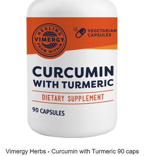 Vimergy Herbs - Curcumin with Turmeric 90 caps