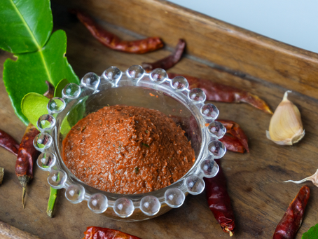 Rote Thai Currypaste selbst gemacht