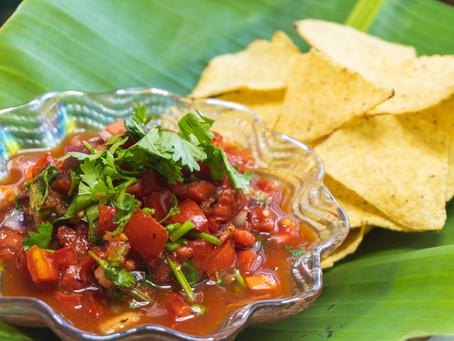Spicy Salsa Thai Style