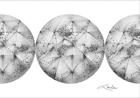 World 5 (triptych)