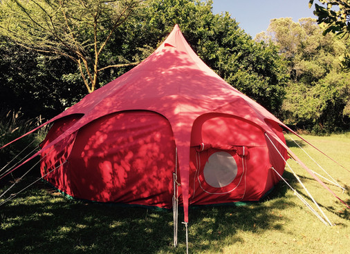 Waiting for Birth in a Red Tent