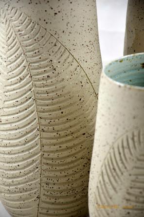 Détail décor vases