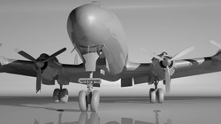 Ambient occlusion render