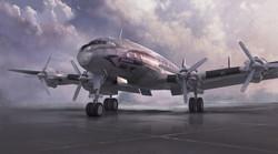 Lockheed Constellation final piece