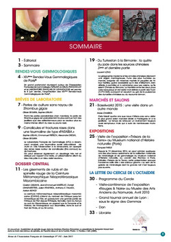 Sommaire N°192
