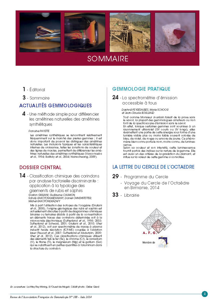 Sommaire n°188