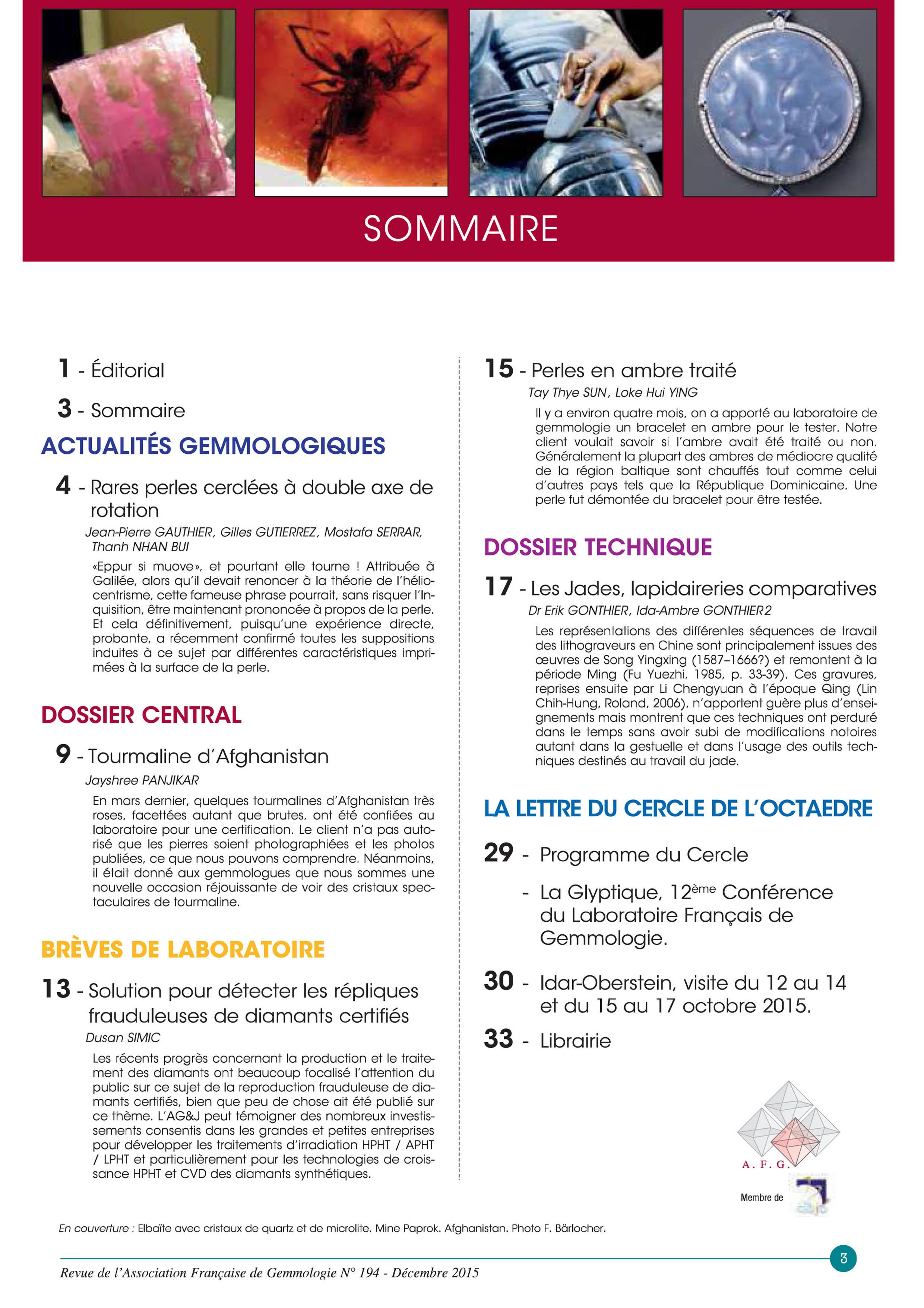 AFG 194 couv et sommaire-2