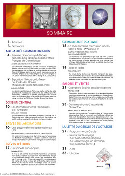 Sommaire n°190