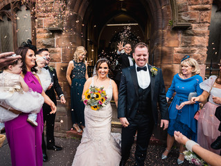 Nick and Stacey's intimate City Centre wedding