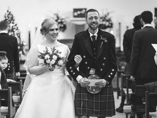 Fraser and Gabriella's Christmass-y New Year wedding