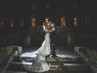 Alison and Gary's fabulous Springkell wedding