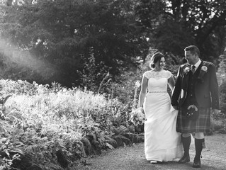 Kirstin and David's stunning wedding at Dumfries House