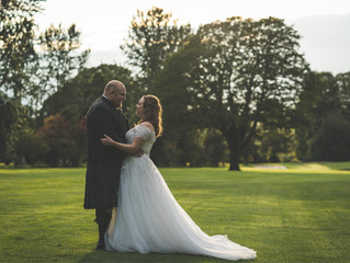 Pete and Sarah's perfect Perthshire wedding