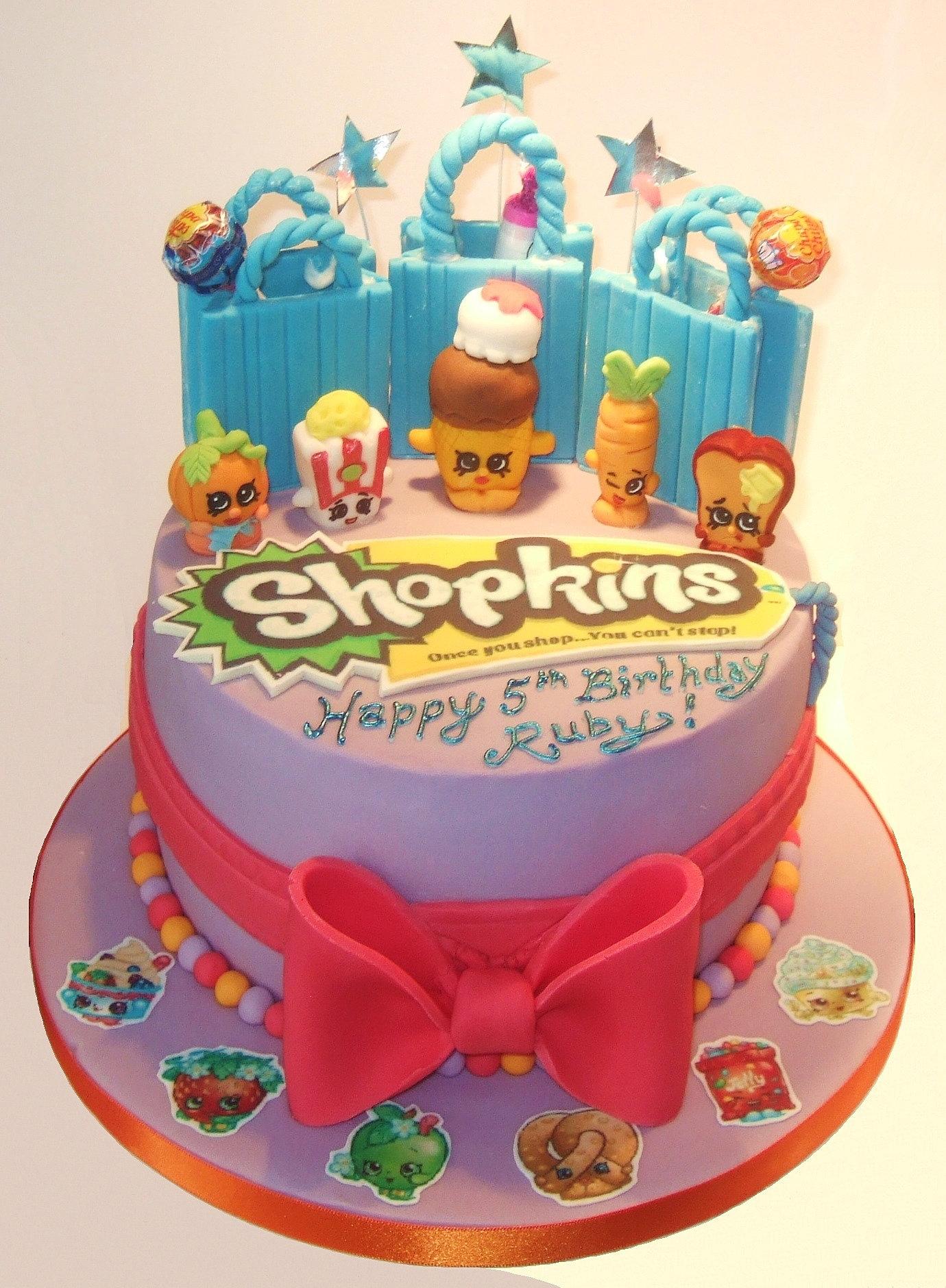 Shopkin Cakes Images Shopkin Cake Image