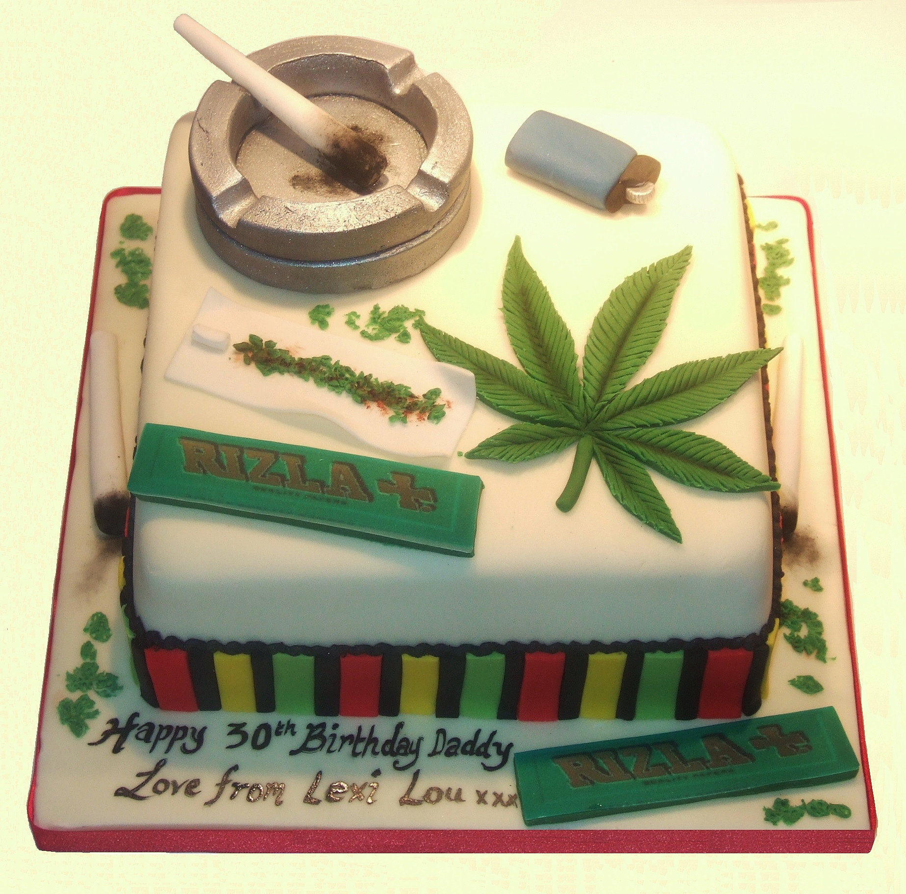 Marijuana Cake Images