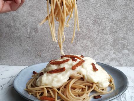 Pasta Carbonara met een twist