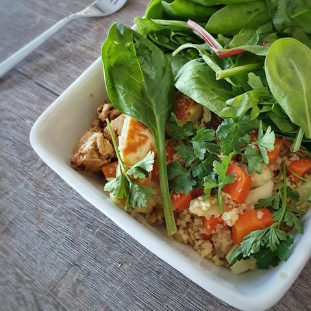 Volkoren couscous salade