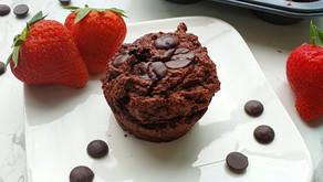 Secretly Healthy Chocolate Muffins