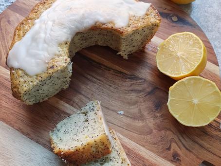 Maanzaadcake met citroen