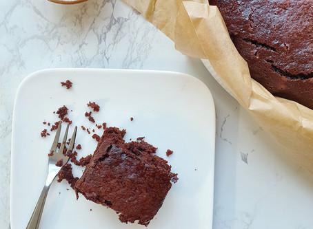 Chocoladecake op basis van courgette