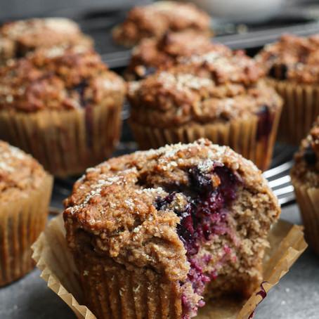 Fruitige ontbijt muffins