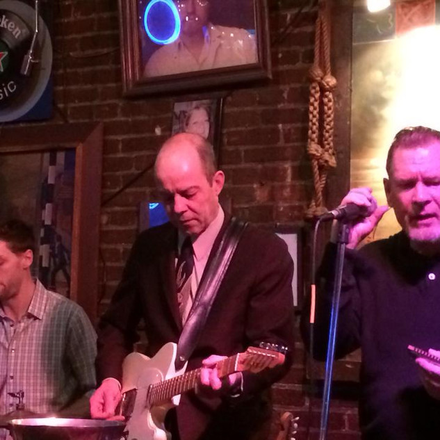 At the Cat's Eye with Pete Kanaras and Steve Guyger, 2014