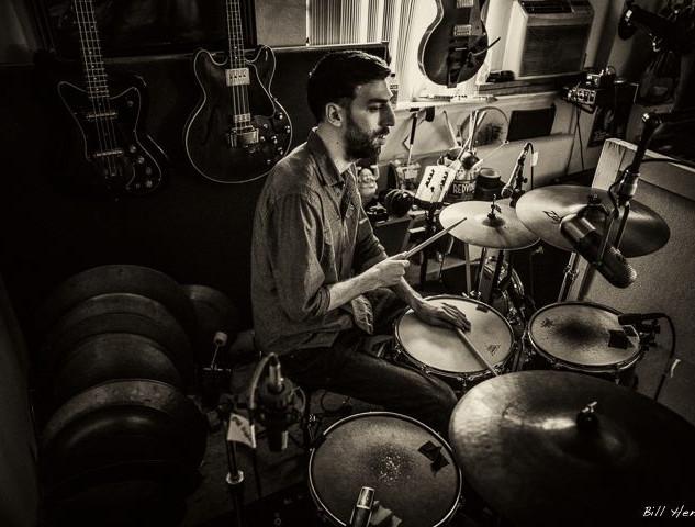 In the studio with Rusty Zinn