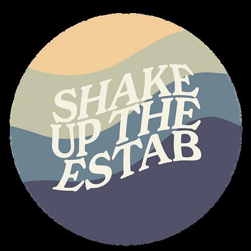 SUTE Logo Sticker