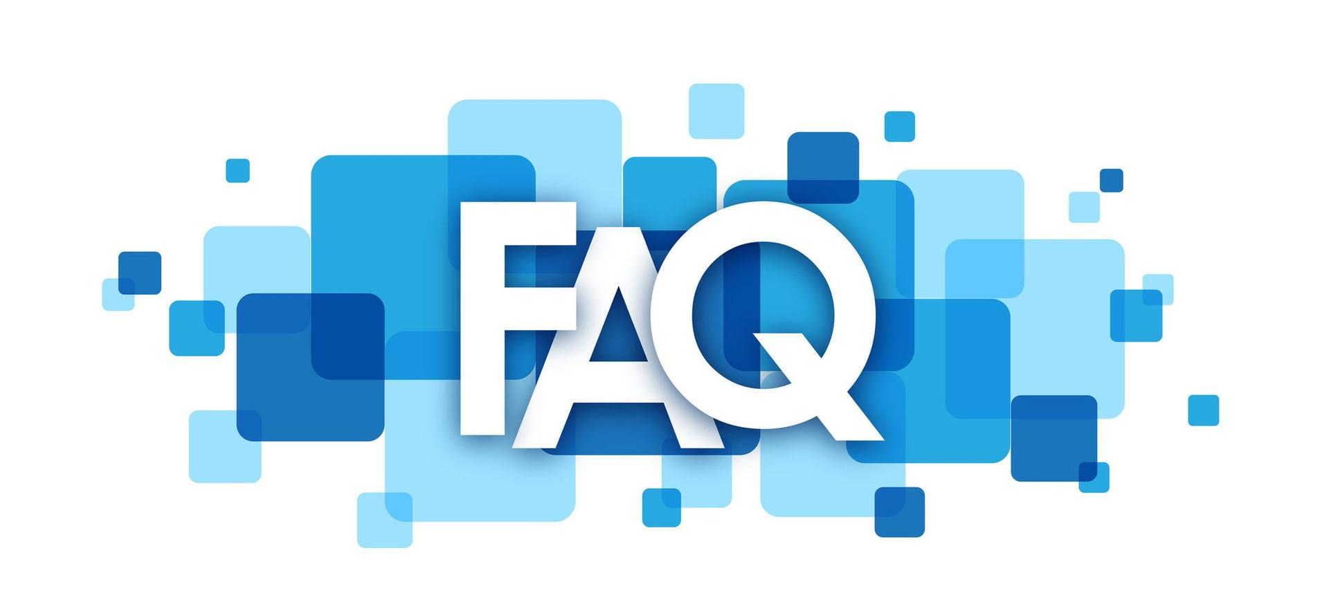 Nuova sezione del sito: FAQ!!