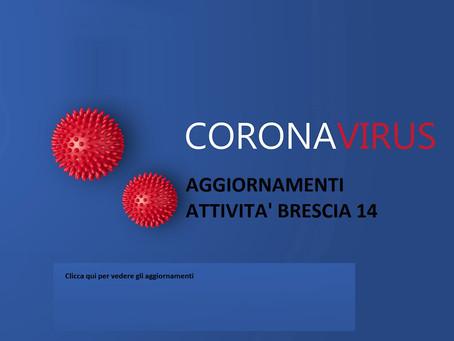 ARCHIVIO: documenti e informazioni sulle attività del Brescia 14 in Tempo di lockdown