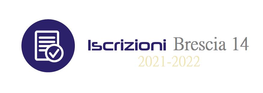 NUOVE ISCRIZIONI 2021-2022