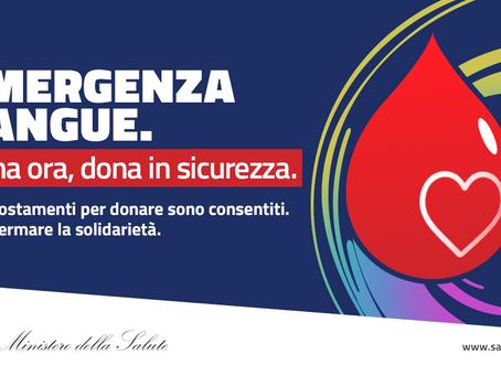 SOS Donazioni Sangue, scopri come donare ora e in sicurezza!