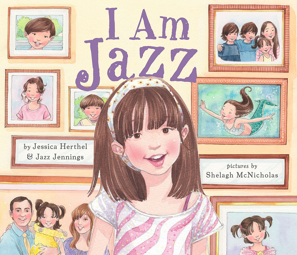 Photograph of the children's book I Am Jazz
