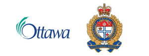 The logos of the City of Ottawa and the Ottawa Police Service