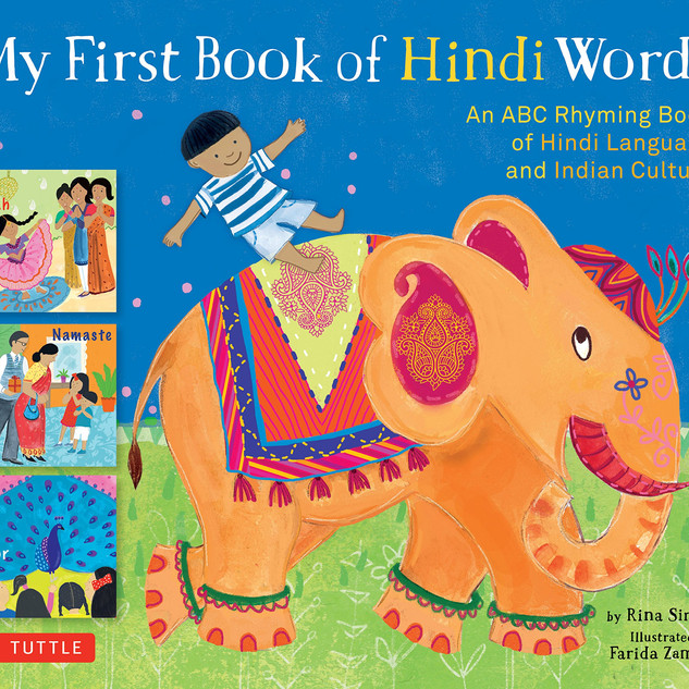 My First Book of Hindi Words_ Rina Singh