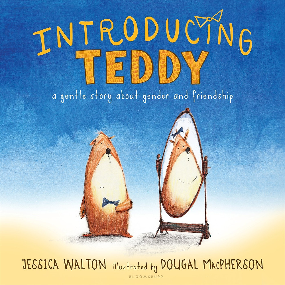 Photograph of the children's book Introducing Teddy