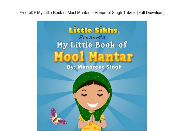 Sikhism - My Little Book of Mool Mantar.